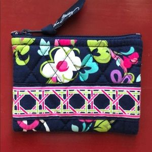 Vera Bradley Coin Purse in Ribbons